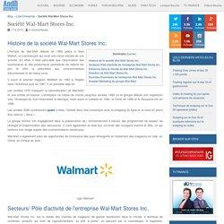Entreprise Wal-Mart Stores Inc. : Chiffre d'affaires et résultats de l'action Wal-Mart Stores Inc.