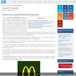 Entreprise Mc Donald's : Chiffre d'affaires et résultats de l'action Mc Donald's