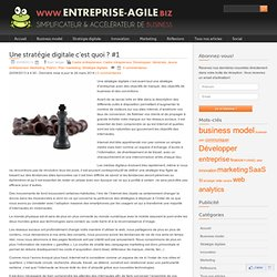 Une stratégie digitale c'est quoi ? #1 - entreprise-agile