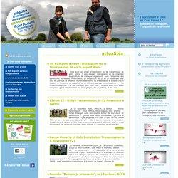 Création d'entreprise en agriculture - Bretagne - L'agriculture et moi, on s'est trouvé ! Quand on est accompagné, c'est plus facile de se lancer !