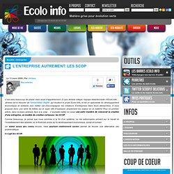 L'entreprise autrement: les SCOP