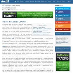 Entreprise Carrefour : Chiffre d'affaires et résultats de l'action Carrefour