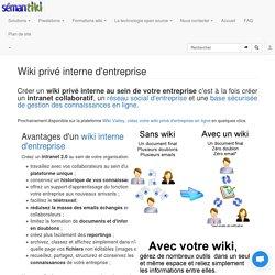 Créer un wiki interne d'entreprise ou intranet collaboratif avec MediaWiki le logiciel utilisé par Wikipédia