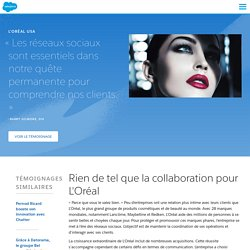 L'Oréal, une entreprise sociale et collaborative - Salesforce France