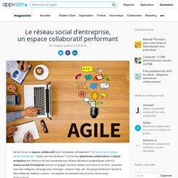 Réseau social d'entreprise (RSE) : définition, logiciels, plateforme collaborative et espace de travail