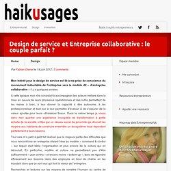 Design de service et Entreprise sociale : le couple parfait ?