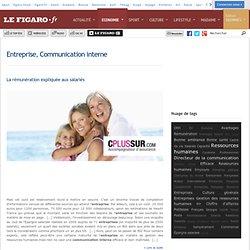 Entreprise, Communication interne -