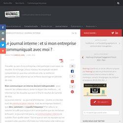Créer le journal interne de l'entreprise