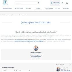 Statut juridique d'entreprise : comparatif des formes juridiques