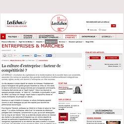 La culture d'entreprise : facteur de compétitivité ?