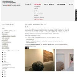 Fondation d'entreprise espace écureuil pour l'art contemporain de Toulouse : Reliefs