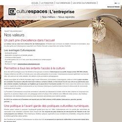 L'entreprise - Culturespaces, Paris