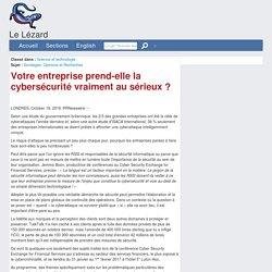 Votre entreprise prend-elle la cybersécurité vraiment au sérieux ?