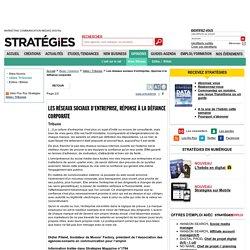 Les réseaux sociaux d'entreprise, réponse à la défiance corporate - page 2