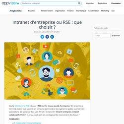 Intranet d'entreprise ou RSE : que choisir ? Définition, objectifs et mise en place
