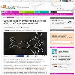 Outils sociaux en entreprise : malgré des efforts, la France reste en retard