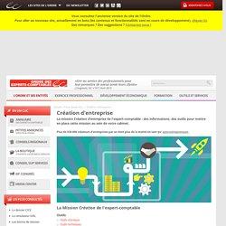 Entreprise Création - Le site des Experts-Comptables sur la Création d'entreprise