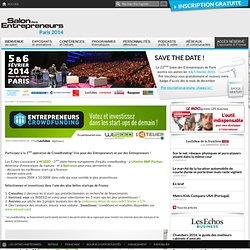 Le portail de la Création d'entreprise, Reprise d'entreprise, Franchise - Salon des Entrepreneurs
