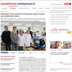 Finistère. Free choisit l'entreprise Kyemo pour ses antennes-relais