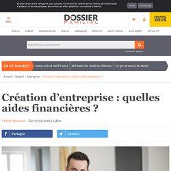 Création d'entreprise : quelles aides financières