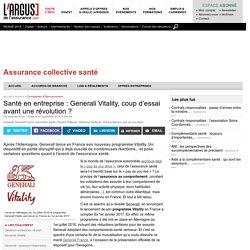 Santé en entreprise : Generali Vitality, coup d'essai avant une révolution ?