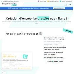 Création d'entreprise en ligne avec un expert comptable