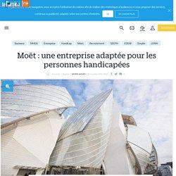 Moët : une entreprise adaptée pour les personnes handicapées - Le Parisien