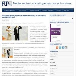 marketing et ressources humaines Pourquoi le mariage entre réseaux sociaux et entreprise est-il si difficile ?