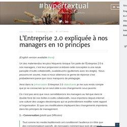 L'Entreprise 2.0 expliquée à nos managers en 10 principes « Heav