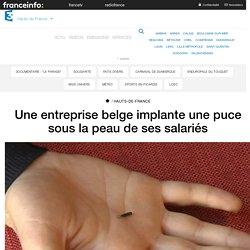 Une entreprise belge implante une puce sous la peau de ses salariés - France 3 Hauts-de-France