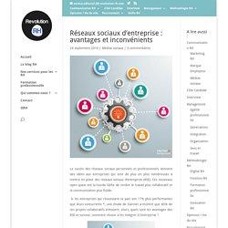 Réseaux sociaux d'entreprise: avantages et inconvénients - Revolution-RH
