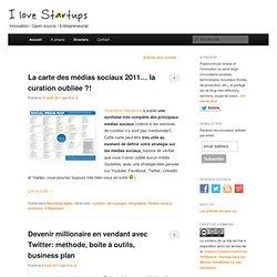 Veille, tendances, infos... sur les startups, la création d'entreprise et l'innovation.I love startups