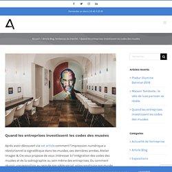 Quand l'entreprise s'inspire des musées - Atelier Images & Cie