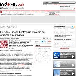Le réseau social d'entreprise s'intègre au système d'information