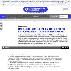 Un guide sur le plan de mobilité entreprise et interentreprises