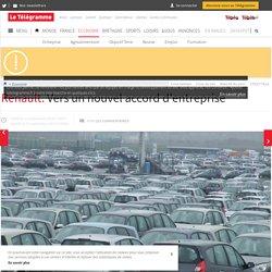 Renault. Vers un nouvel accord d'entreprise - Économie - LeTelegramme.fr