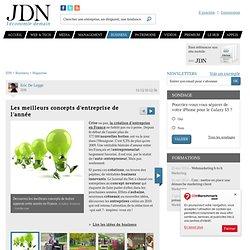 Les meilleurs concepts d'entreprise de l'année - Journal du Net Economie