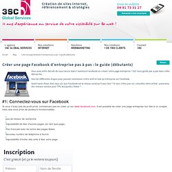 Créer une page Facebook d'entreprise pas à pas : le guide (débutants) Marseille Toulon Nice Nimes Montpellier