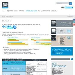 Offre Global Clean - Entreprise de nettoyage