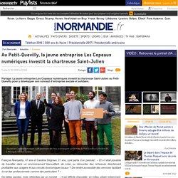 Au Petit-Quevilly, la jeune entreprise Les Copeaux numériques investit la chartreuse Saint-Julien