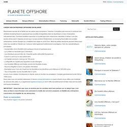 Créer son entreprise offshore en Irlande. « Planète Offshore