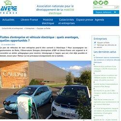 Flottes d'entreprise et véhicule électrique : quels avantages, quelles opportunités ?