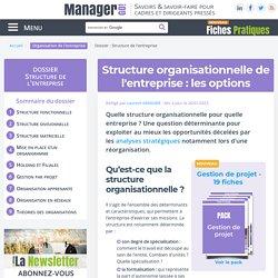 Structure de l'entreprise : concevoir une organisation efficace