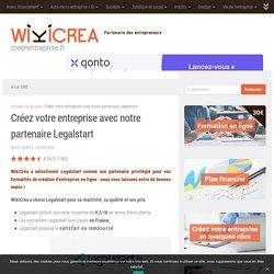 Créez votre entreprise avec notre partenaire LegalStart