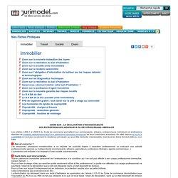 JURIMODEL : Modèle lettre type et contrat type pour l'Entreprise et les Particuliers.
