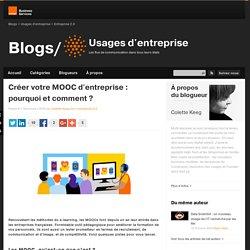 Créer votre MOOC d'entreprise : pourquoi et comment