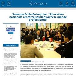 Semaine École-Entreprise : l'Éducation nationale renforce ses liens avec le monde professionnel