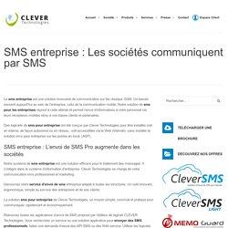 SMS entreprise: Logiciel professionnel d'envoi de sms pour sociétés