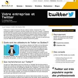 Votre entreprise et Twitter – Publications – Nmédia Solutions