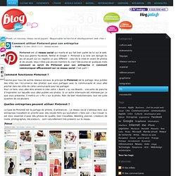 Comment utiliser Pinterest pour son entreprise - JALIS - Blog - Agence Web Marseille Création Site Internet Référencement